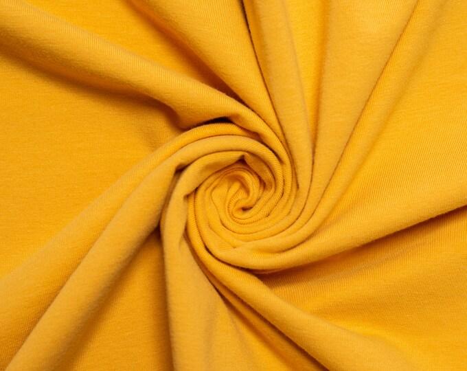 Birch Organic Jersey Knit Solids - Honey Jersey Knit