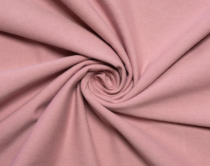Birch Organic Jersey Knit Solids - Woodrose Jersey Knit