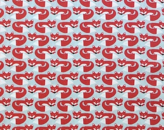 Organic Cotton Fabric - Monaluna Fox Hollow - Foxy Too