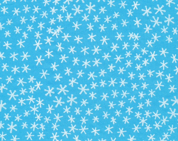 Featured listing image: Organic Cotton Fabric - Cloud9 Festive - Snowflakes