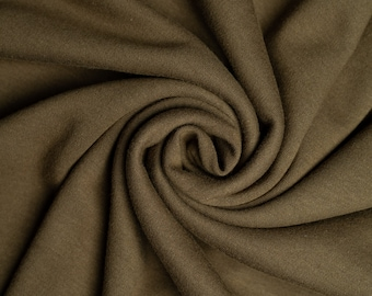Organic KNIT Fabric - Birch Knit Soilds - Timber Knit Solid