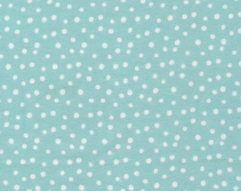 Cloud9 Northerly Organic Flannel - Confetti Blue