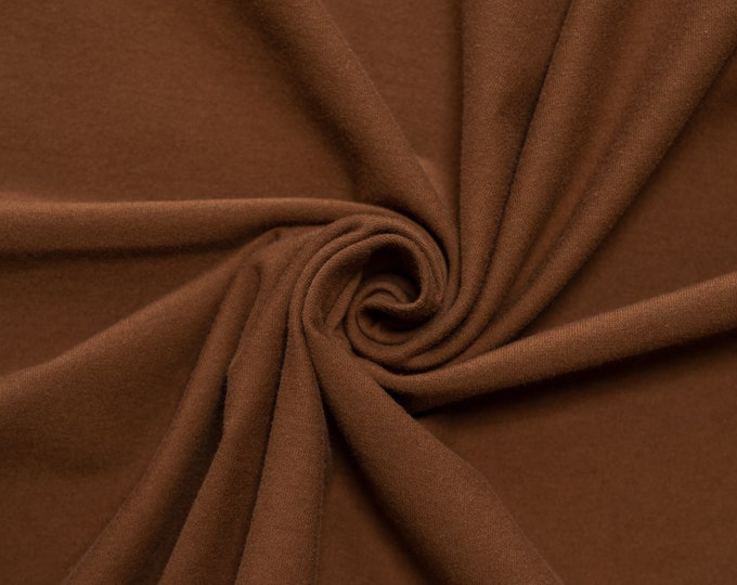 Birch Organic Jersey Knit Solids - Bison Knit
