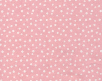 Cloud9 Northerly Organic Flannel - Confetti Pink