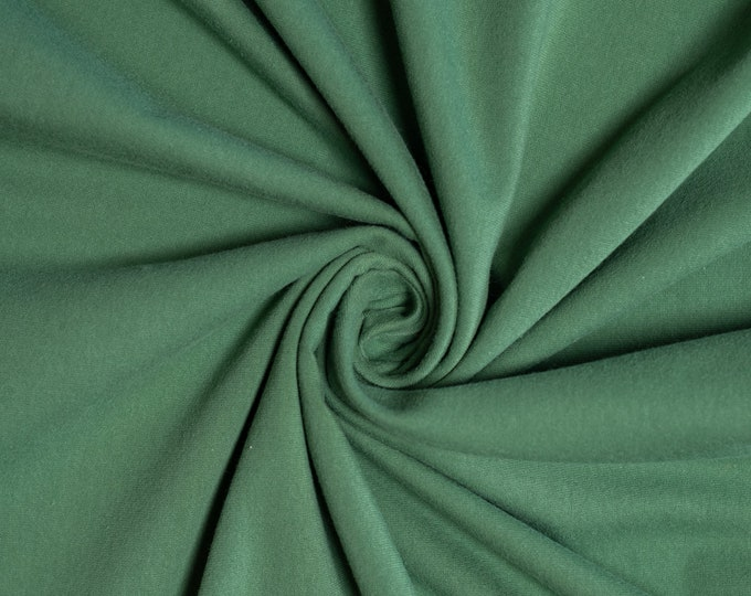 Birch Organic Jersey Knit Solids - Jade Jersey Knit