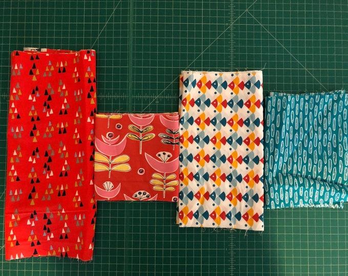 Scrap Pack - Organic Poplin Fabric