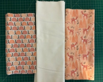Scrap Pack - Organic Flannel Fabric