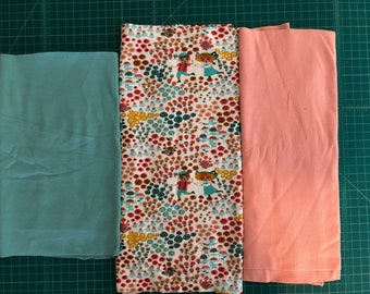 Scrap Pack - Organic Knit Fabric