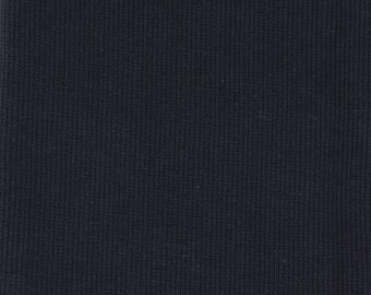 Organic KNIT Fabric - Birch Dusk Ribbed Knit