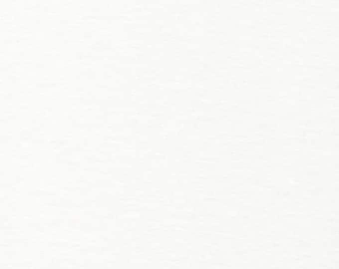 Organic KNIT Fabric - Cloud9 2017 Knits - Rib Knit White