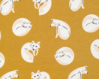 Cloud9 Northerly Organic Flannel - Winter Fox Gold