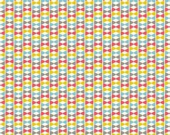 Organic Cotton Fabric - Birch Frolic - Bowtie Girl