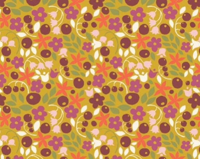 Organic Cotton Fabric - Monaluna Meadow Bitty Blooms