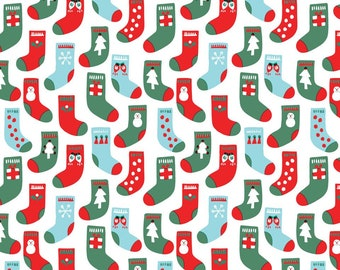 Organic Cotton Fabric - Cloud9 Noel - Fill With Love