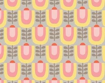 Organic Cotton Fabric - Monaluna Haven - Little Garden