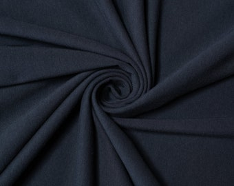 Birch Organic Jersey Knit Solids - True Dusk Knit