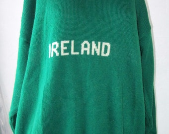 Vintage Blarney Castle Ireland Sweater XL size 44