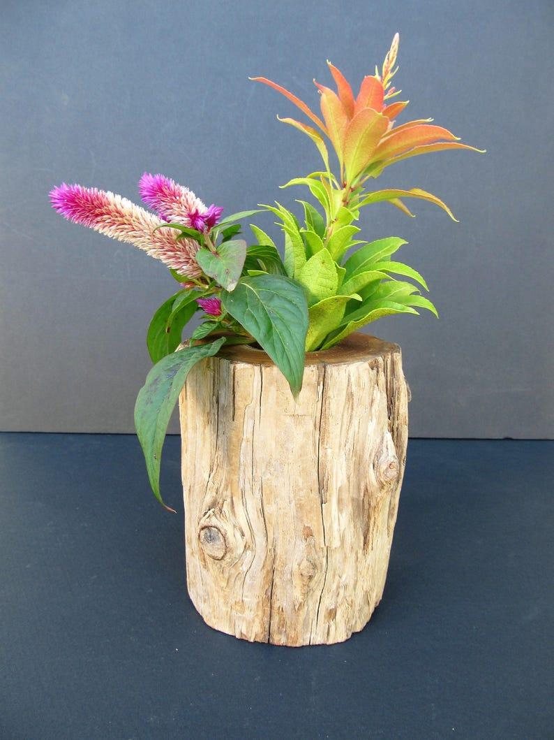 image 0 ... & Natural driftwood flower vase/wedding table vase   Etsy