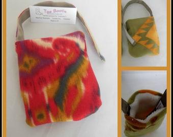 Fleece Foot Cast Sock, Toe Warmer Sock,  Foot Ankle Surgery Gift,  Teen Volleyball Sock