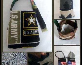Male Army Camouflage Fleece Foot Cast Sock Toe Bootie ,Toe Warmer Sock