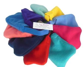 Solid Fleece Foot Cast Toe Booties ,Toe Warmer Sock, Volleyball Cast Sock , Crutch Pad Sock Liquid Repellent Protection