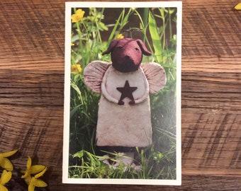 Chocolate Lab Angel Card, Lab Angel Card, Pet Loss Cards, Pet Sympathy Cards, Pet Lover Cards, Lab Lover Cards