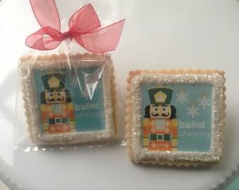 Custom cookies party favor nutcracker--1 Dozen