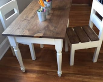 a75c28cba26 Children s Farmhouse Table (and chairs sold separately) Children s Tables  Kids Furniture