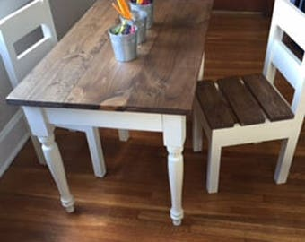 Quick View. Childrenu0027s Farmhouse Table ...