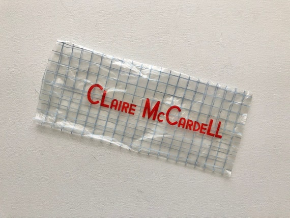 Vintage 1940s 1950s Claire McCardell pink peccary… - image 6