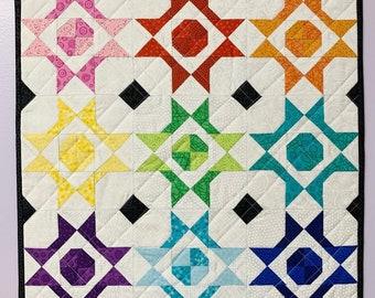 Maxine Dot Mini Quilt Pattern