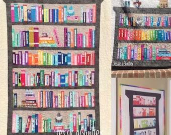 Selvage Bookshelf Quilt Pattern Bundle