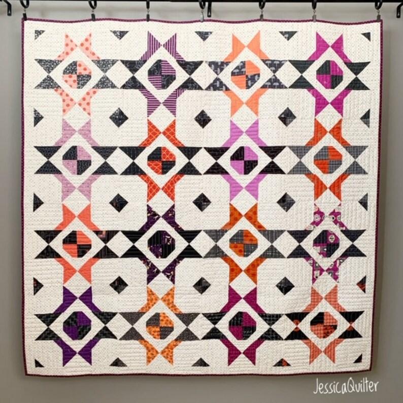 PDF Maxine Dot Quilt Pattern image 0