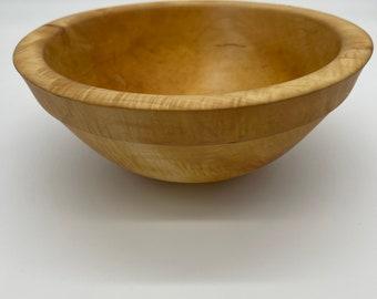 10 Inch Maple Bowl