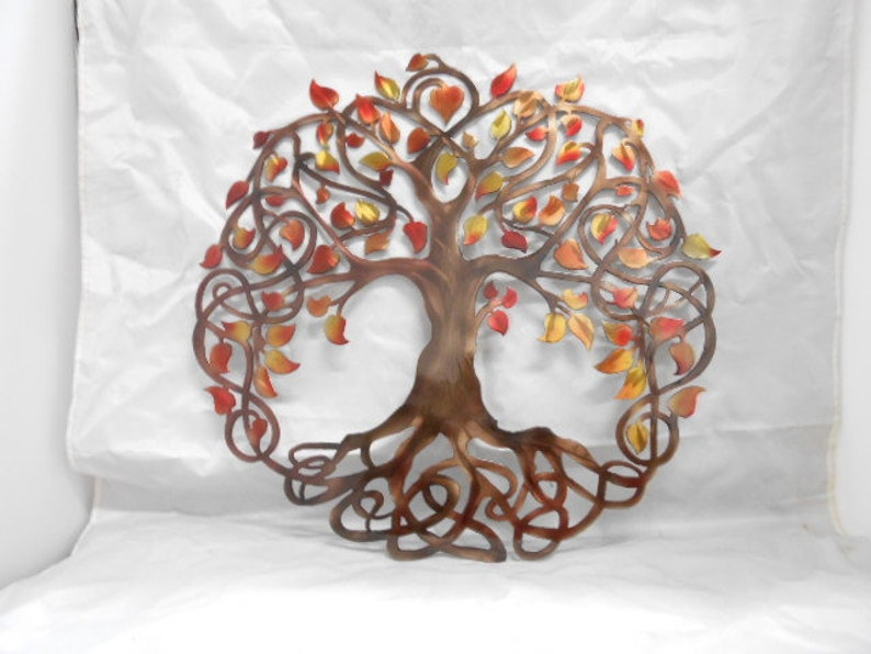 Curly Tree of Life Air Brushed image 0
