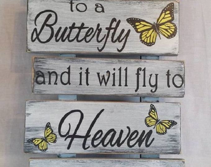 Featured listing image: Whisper I Love You to a Butterfly and it will fly to Heaven to deliver your messge
