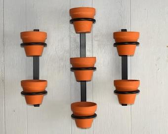 Hanging planter, indoor herb garden, Hanging herb garden, fixer upper inspired herb garden, Planter Set 1 triple 2 doubles