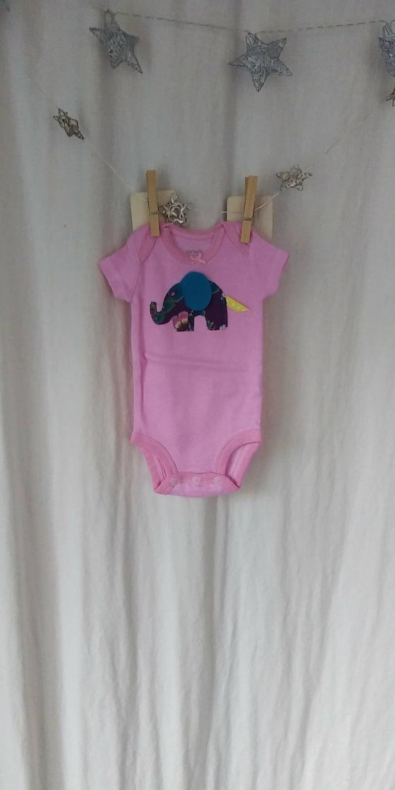 Newborn Baby Set Pants /& Elephant Onesie