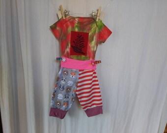 3-6 Months Baby Set Pant & Fern Onesie