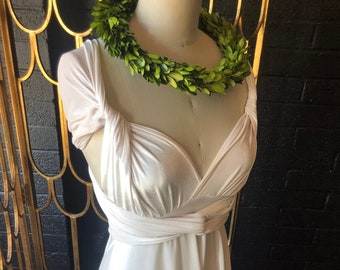 Bridal Wrap Dress