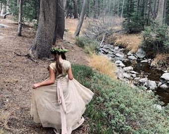 Girl's Wrap Dress