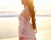 Infinity Wrap Shawl, Stole, Bolero, Shrug - Lace, Chiffon, or Fine Mesh- Choose from 15+ colors. Bridesmaids, Wedding