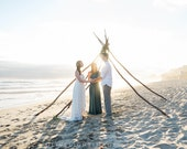 TULIP CUT w/ Lace and Train- Octopus Infinity Wrap Dress~ Custom combine Fabrics- Wedding Gown, Bridesmaids, Maternity, Etc.!