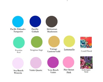 Swatch of Closeout Fabrics for the Octopus Infinity Convertible Wrap Dress.99 cents PER Color Sample- Free Shipping in US