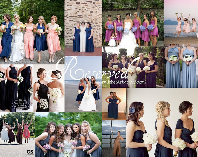 Reserved listing for Rose-12 Long Pelican Hill Dusty Blue Dresses