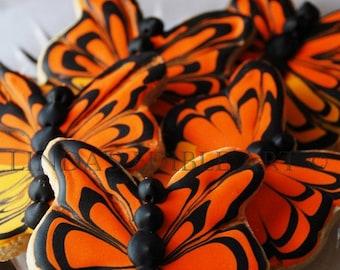 Butterfly Cookies  1 Dozen (12)
