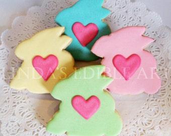 I Heart Easter Bunnies (1 Dozen)