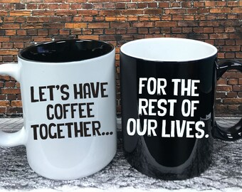 Engraved Coffee Cups