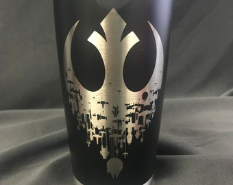 Star Wars Inspired Rebel alliance Powder Coated 20oz Tumbler Ramble