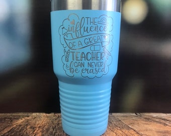 I teach what's your superpower Tumbler, Teacher Gift, Teacher Travel Mug,  Powder coated Swig, teacher Coffee Cup